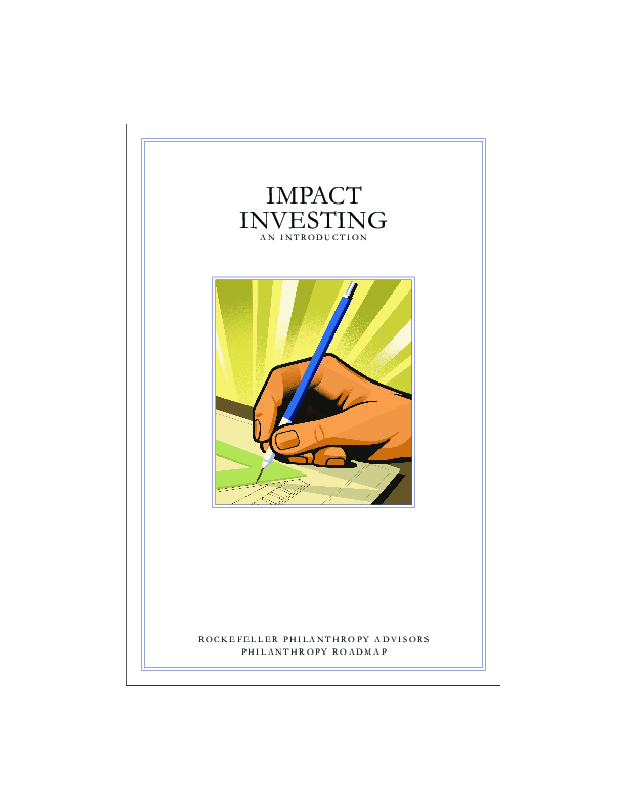 Impact Investing: an introduction