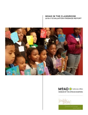 MOAD in the Classroom 2016-17 Evaluation Findings Report