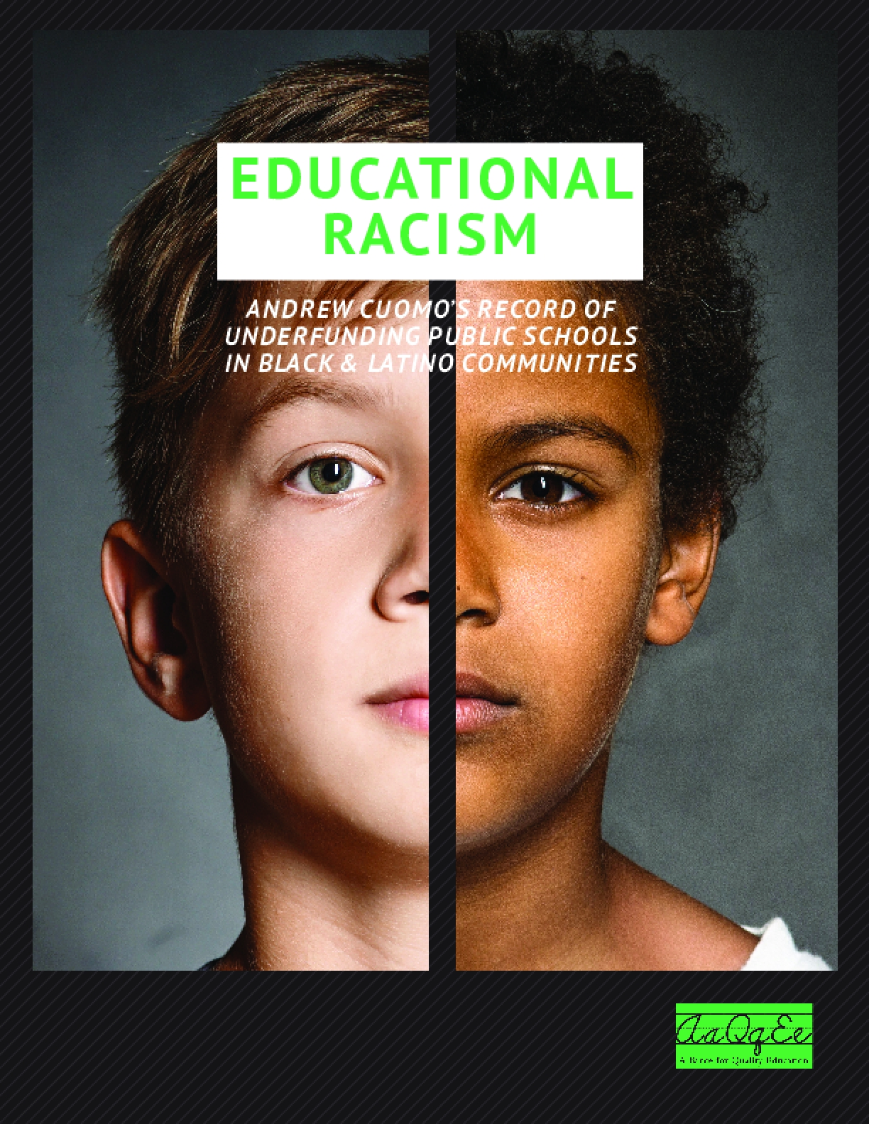 Educational Racism: Cuomo's Record of Underfunding Schools in Black & Latino Communities