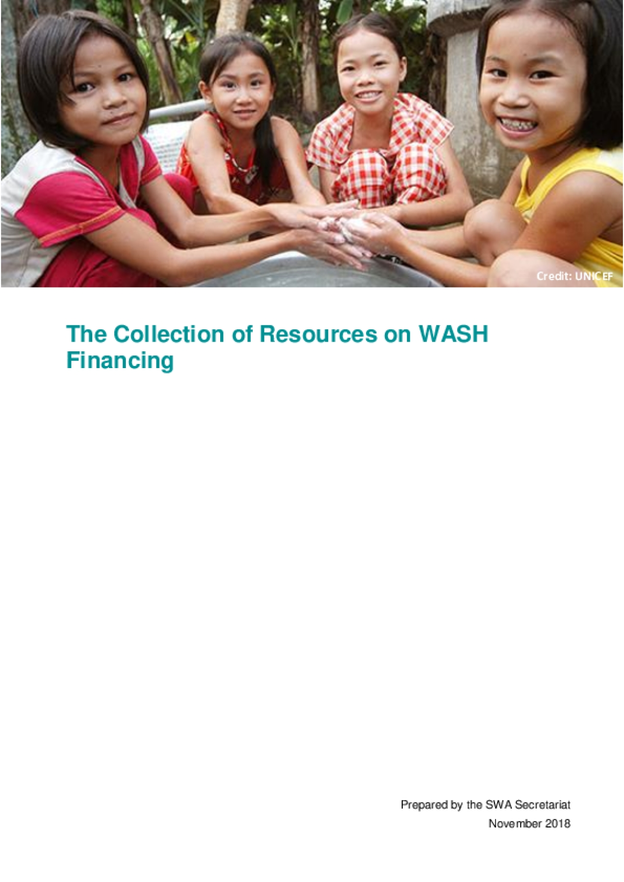 The Collection of Resources on WASH Financing