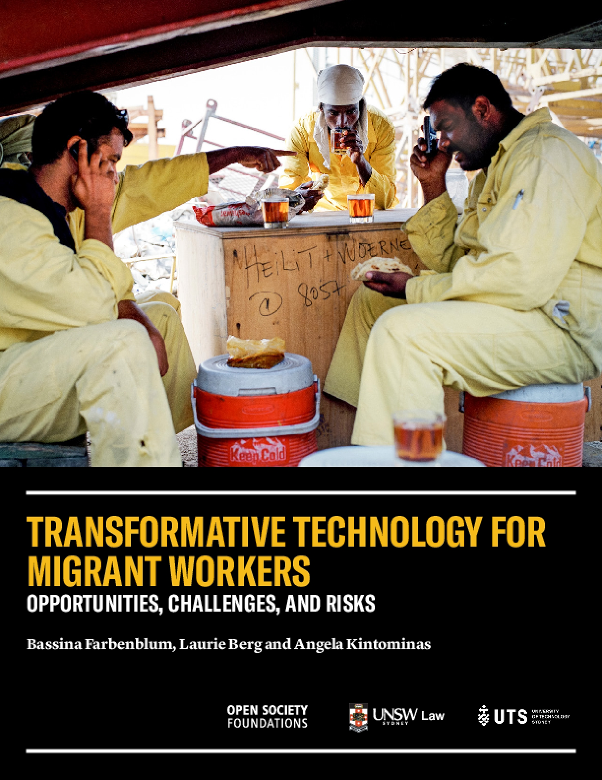 Transformative Technology for Migrant Workers: Opportunities, Challenges, and Risks