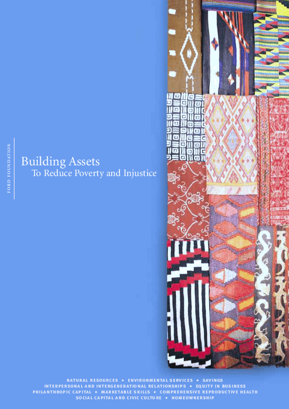 Building Assets to Reduce Poverty and Injustice