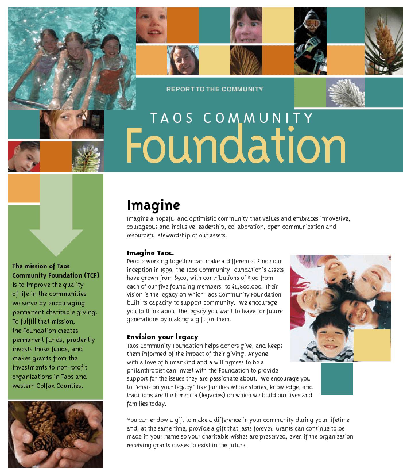Taos Community Foundation - 2007 Annual Report
