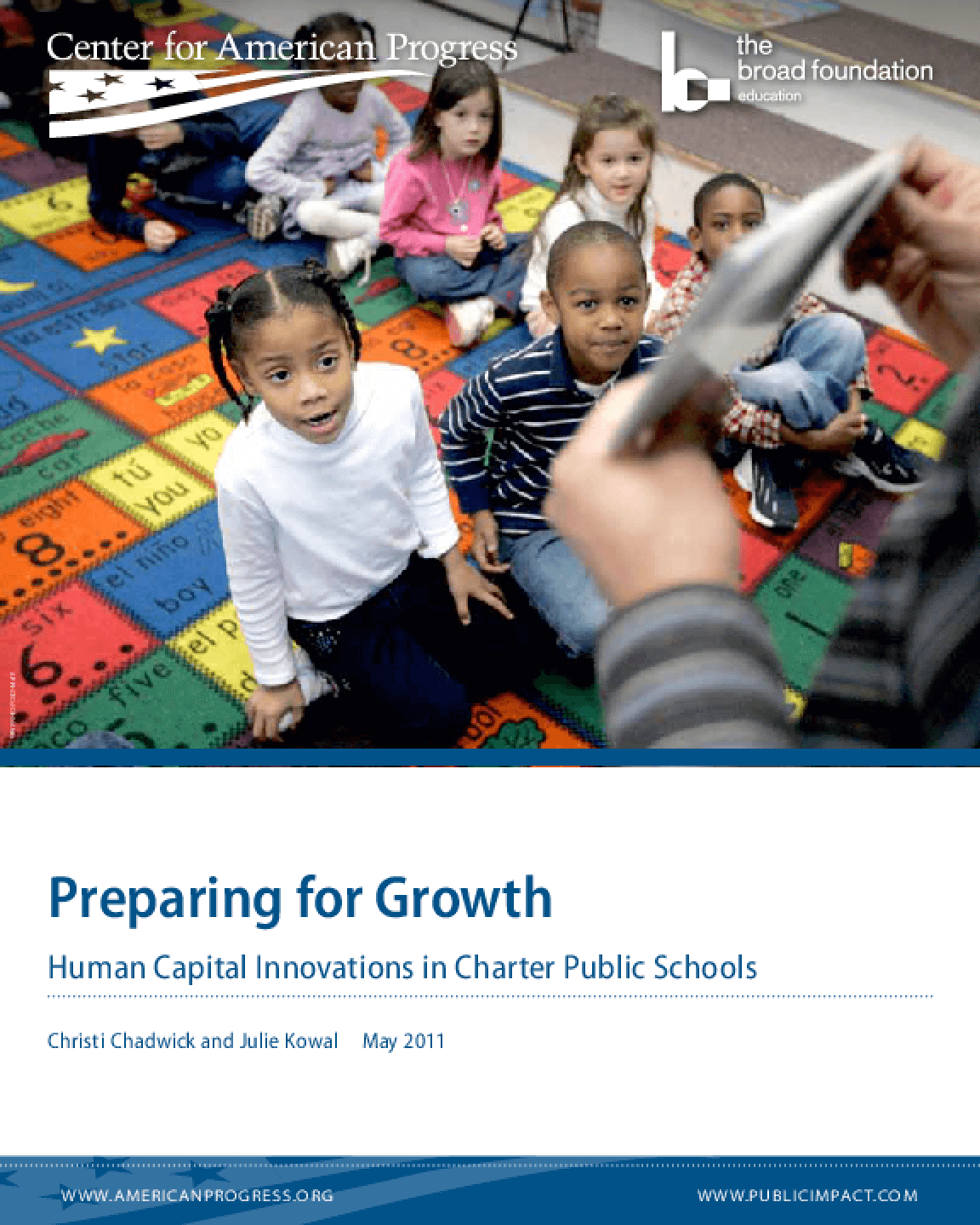 Preparing for Growth: Human Capital Innovations in Charter Public Schools