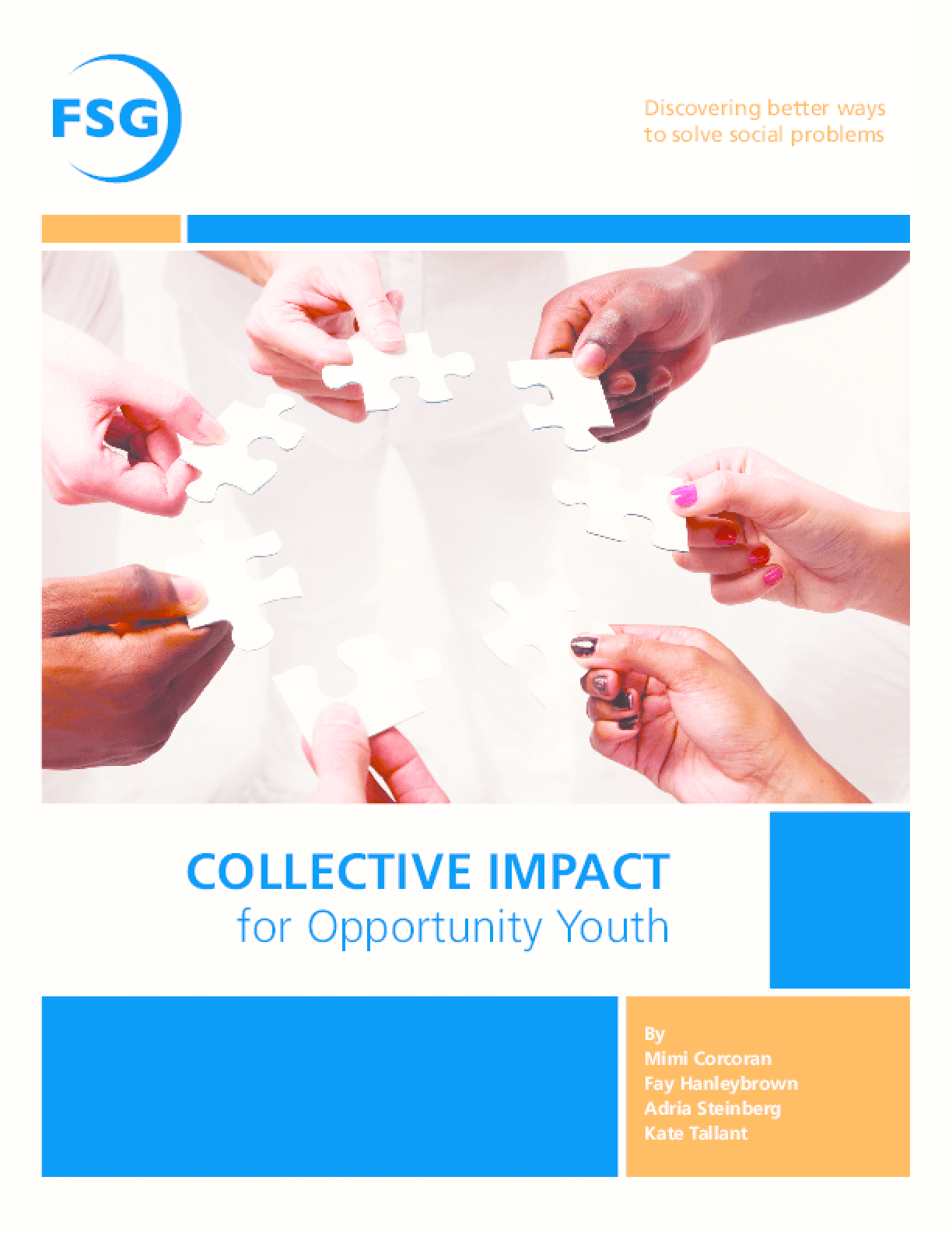 Collective Impact for Opportunity Youth