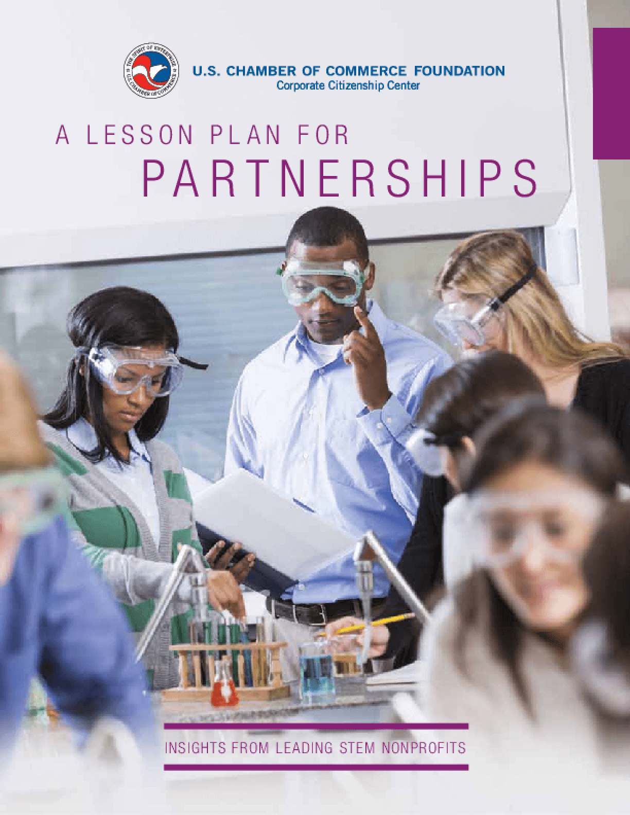 A Lesson Plan for Partnerships: Insights from Leading STEM Nonprofits