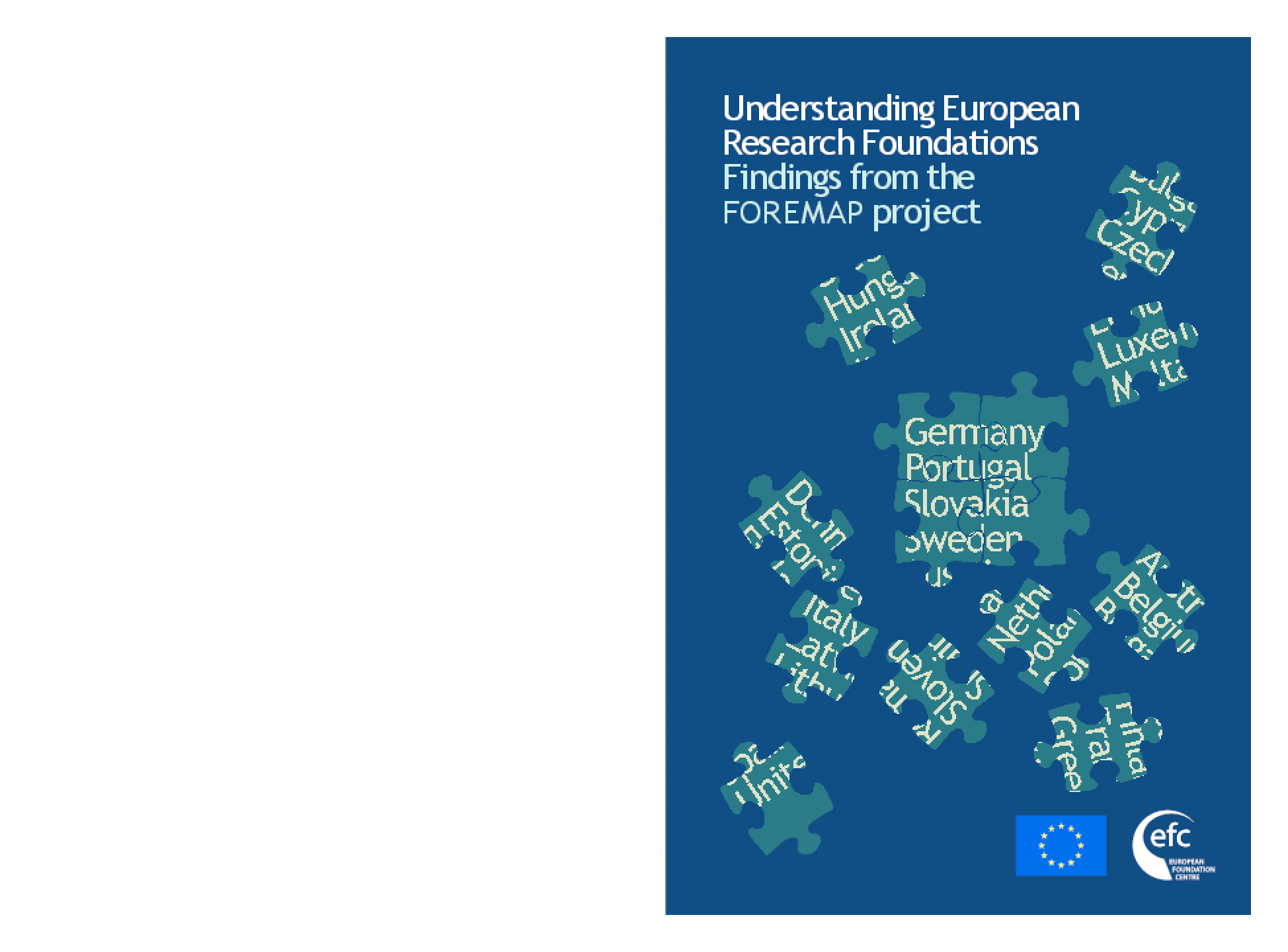 Understanding European Research Foundations : Findings from the FOREMAP Project
