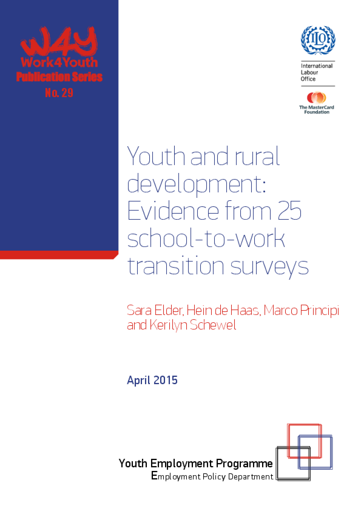 Youth and Rural Development: Evidence from 25 School-to-Work Transition Surveys
