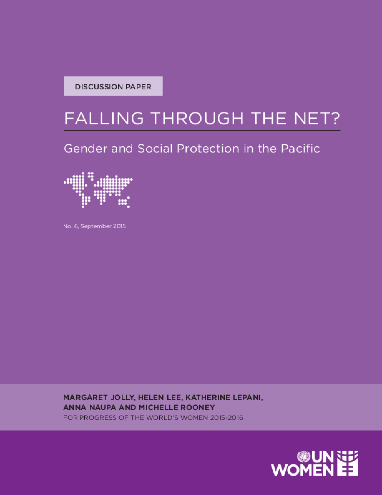 Falling Through the Net? Gender and Social Protection in the Pacific