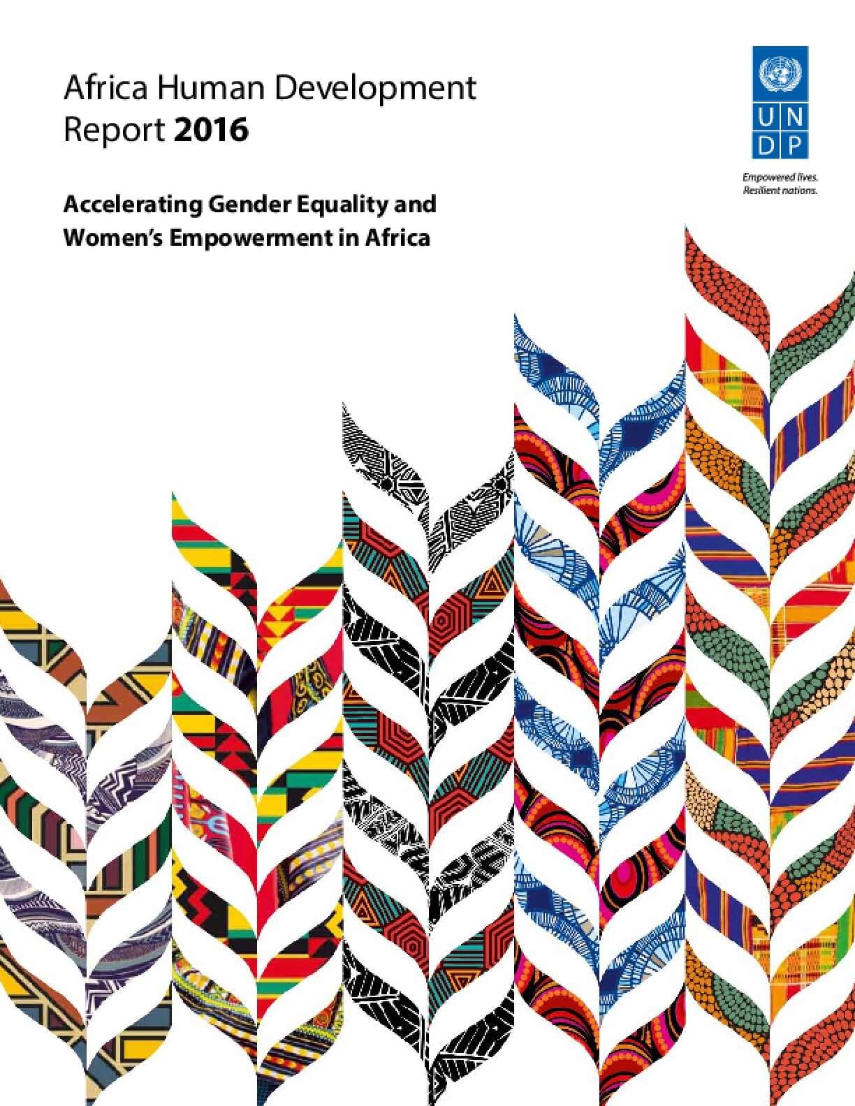 Africa Human Development Report 2016