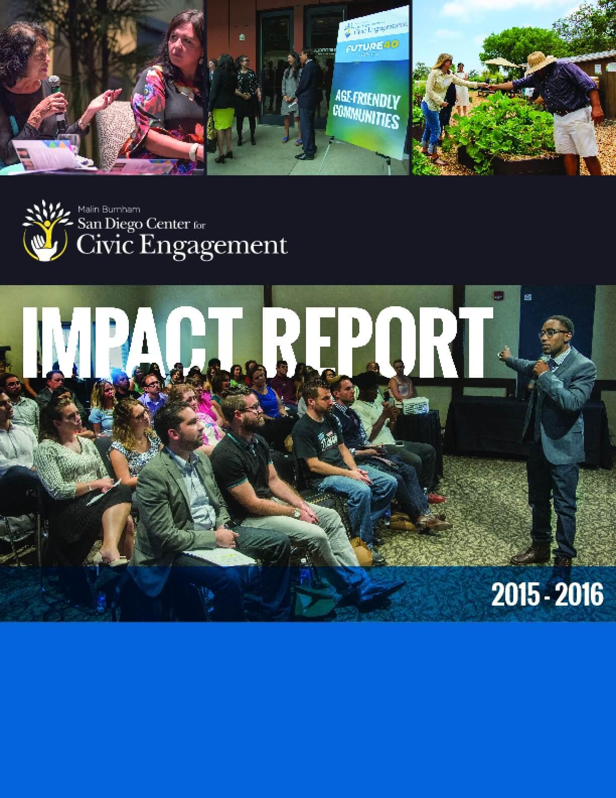 Malin Burnham Center for Civic Engagement Impact report 2015-2016