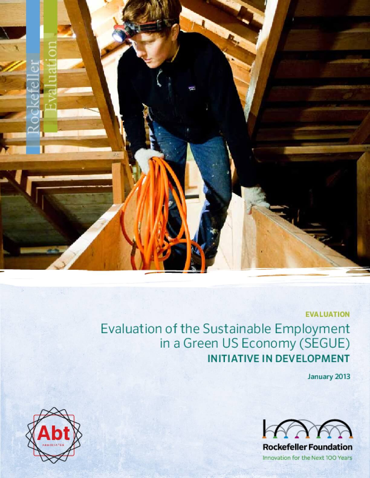 Evaluation of the Sustainable Employment in a Green US Economy (SEGUE)