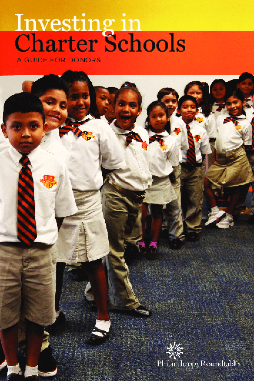 Investing in Charter Schools: A Guide for Donors