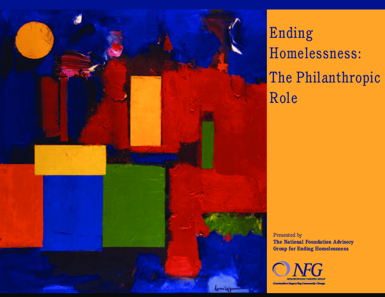 Ending Homelessness: The Philanthropic Role