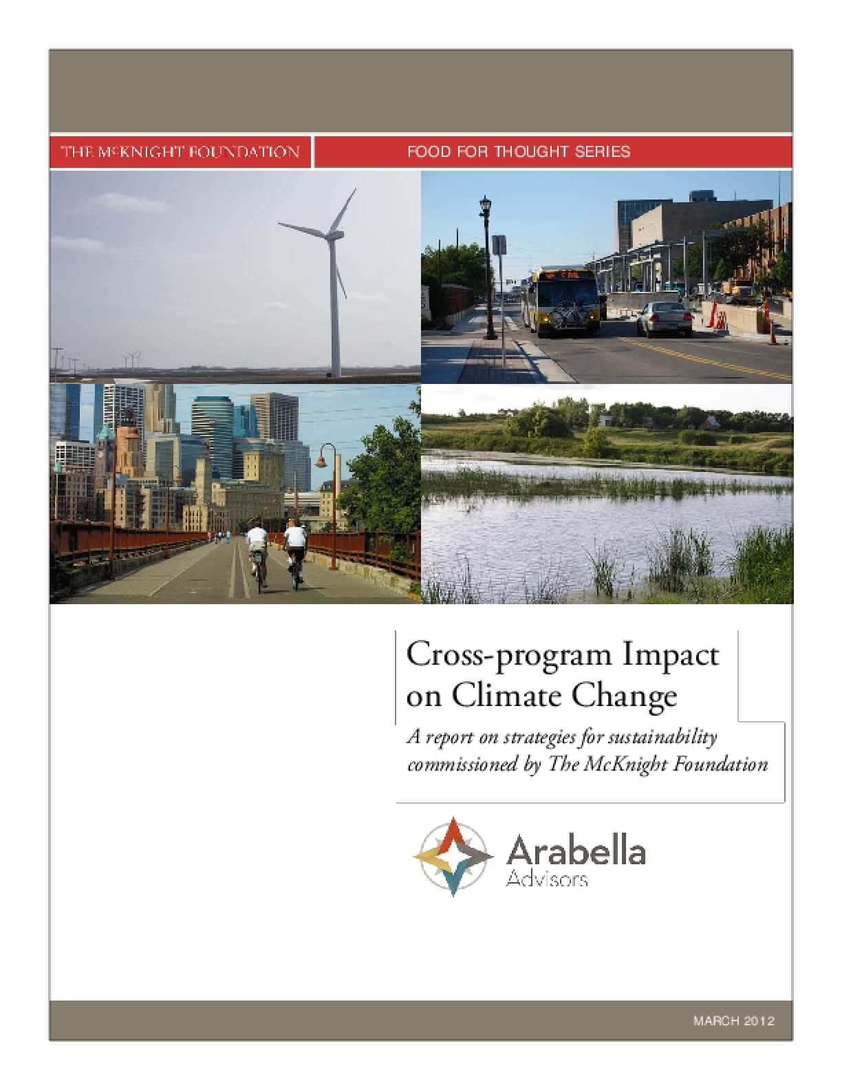 Cross-program Impact on Climate Change