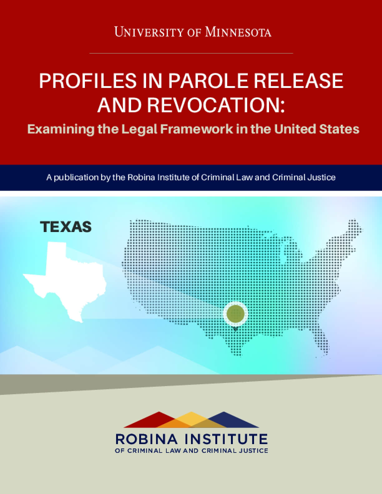 Profiles in Parole Release and Revocation Texas