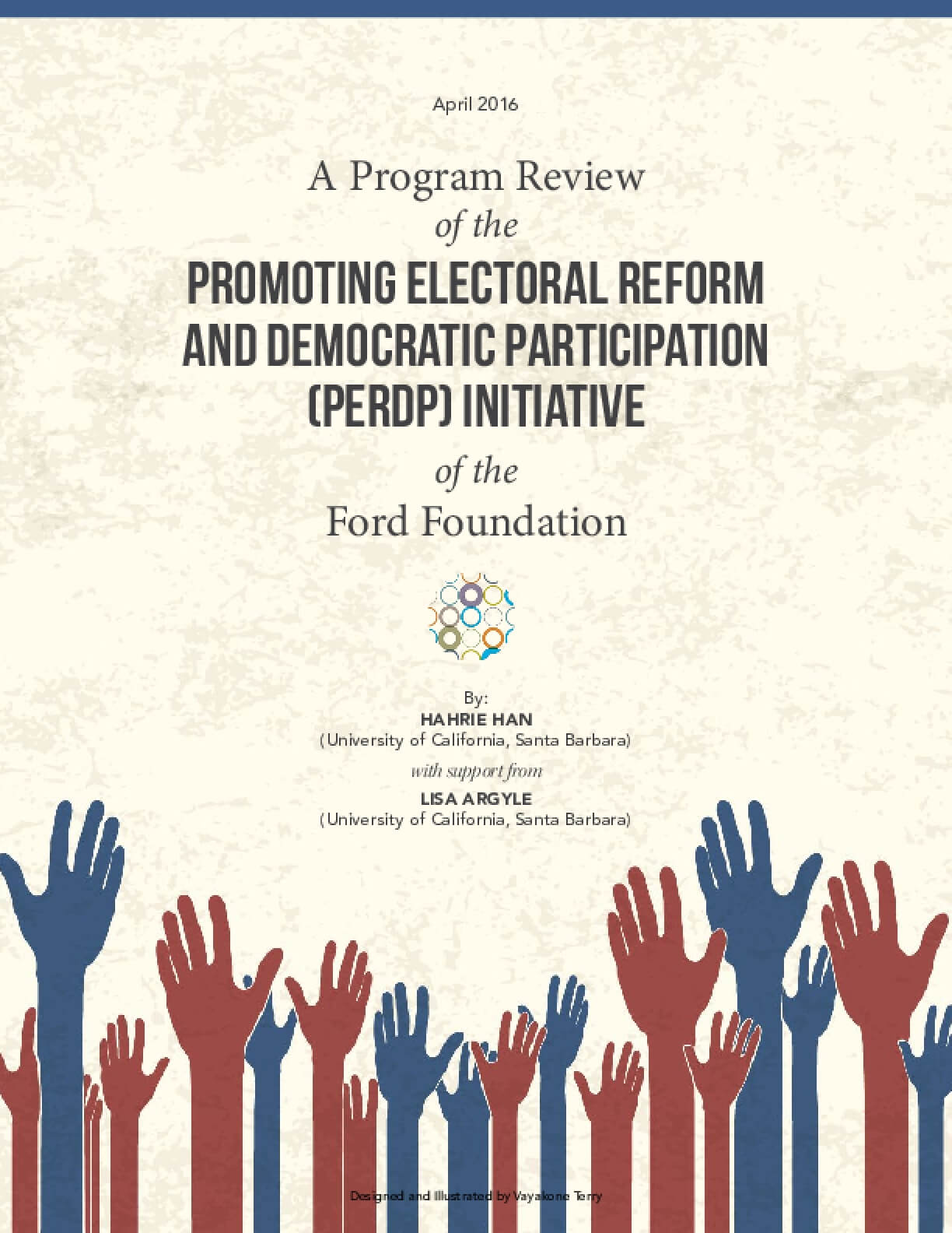 A Program Review of the Promoting Electoral Reform and Democratic Participation (PERDP) Initiative of the Ford Foundation