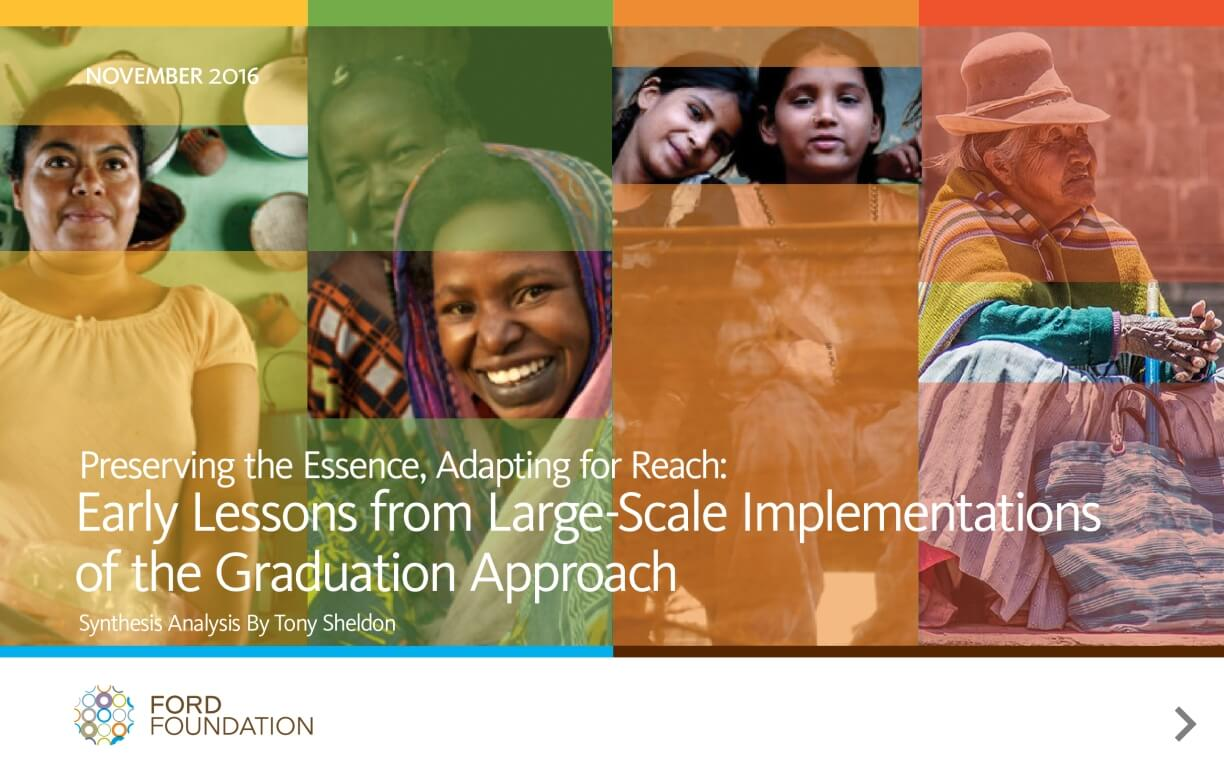 Preserving the Essence, Adapting for Reach: Early Lessons from Large-Scale Implementations of the Graduation Approach