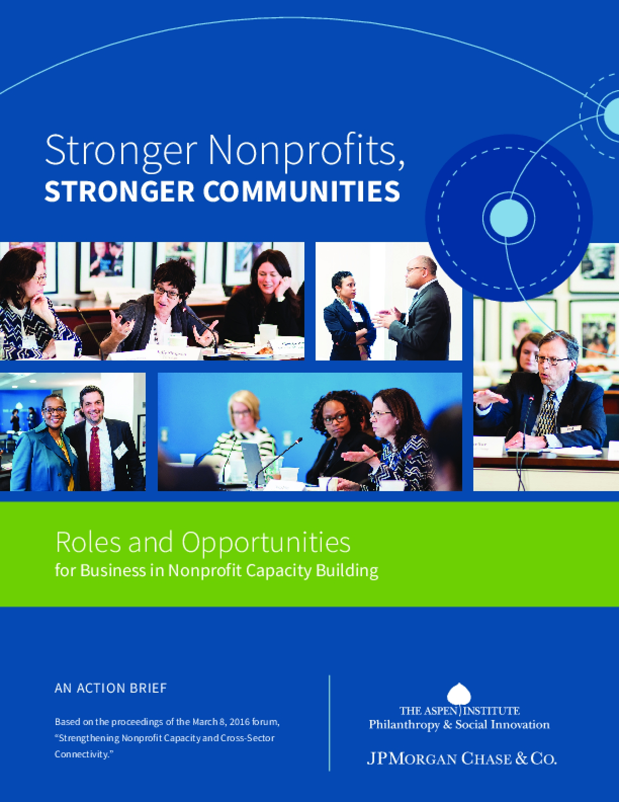 Stronger Nonprofits, Stronger Communities