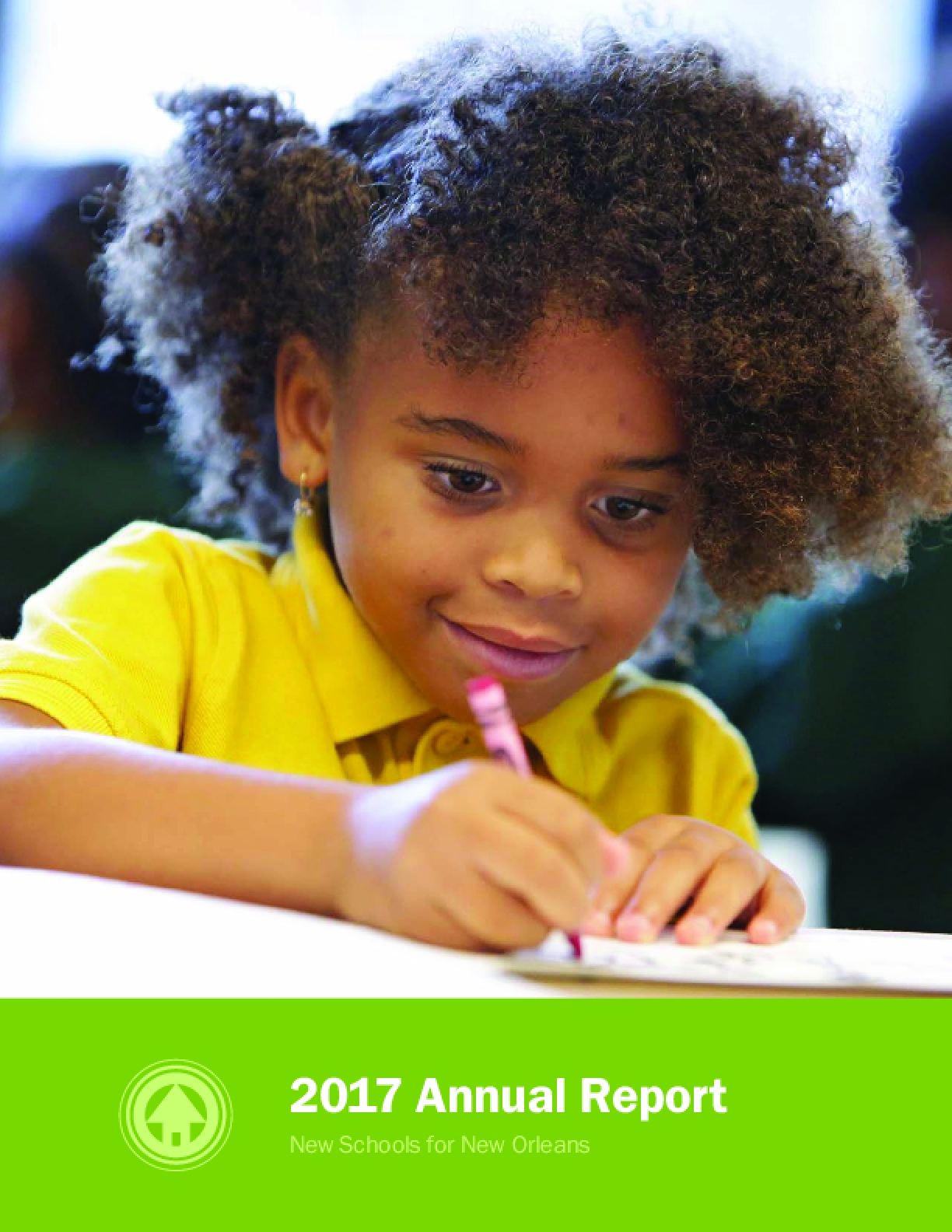 2017 Annual Report: New Schools for New Orleans