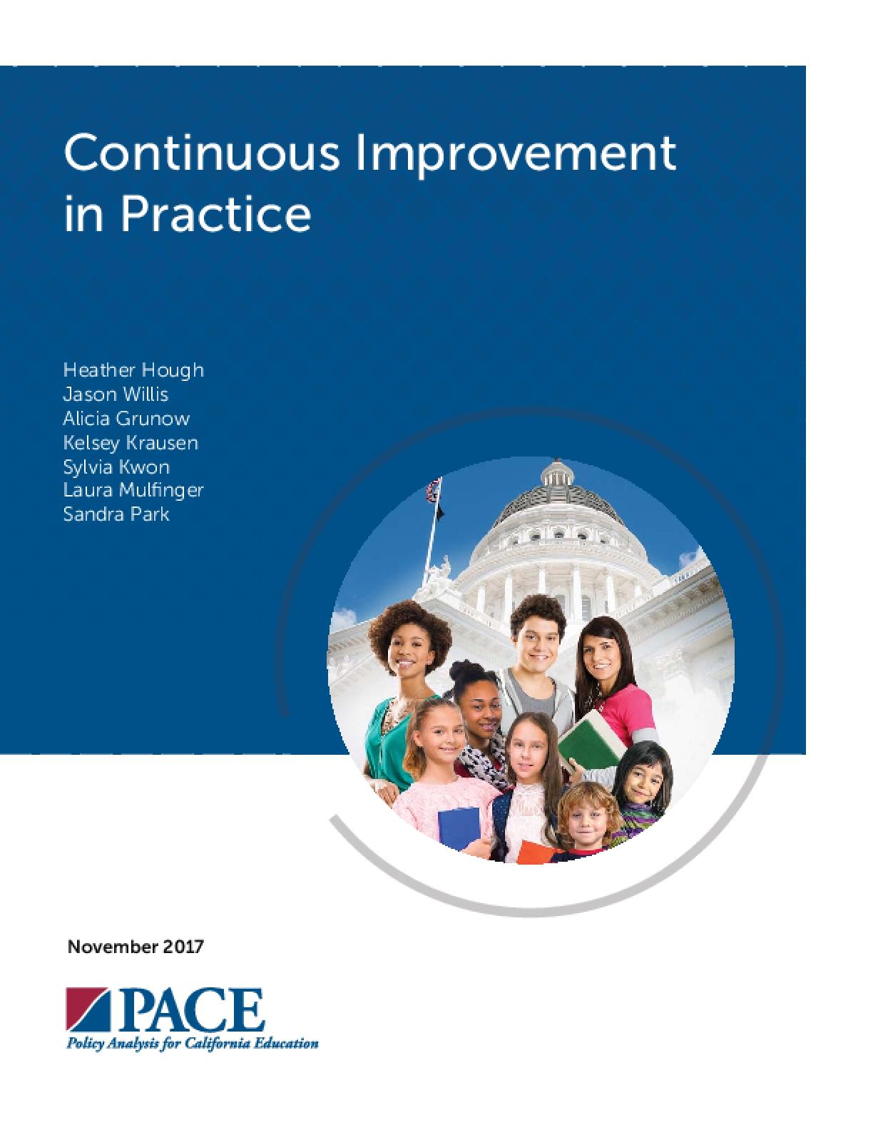 Continuous Improvement in Practice