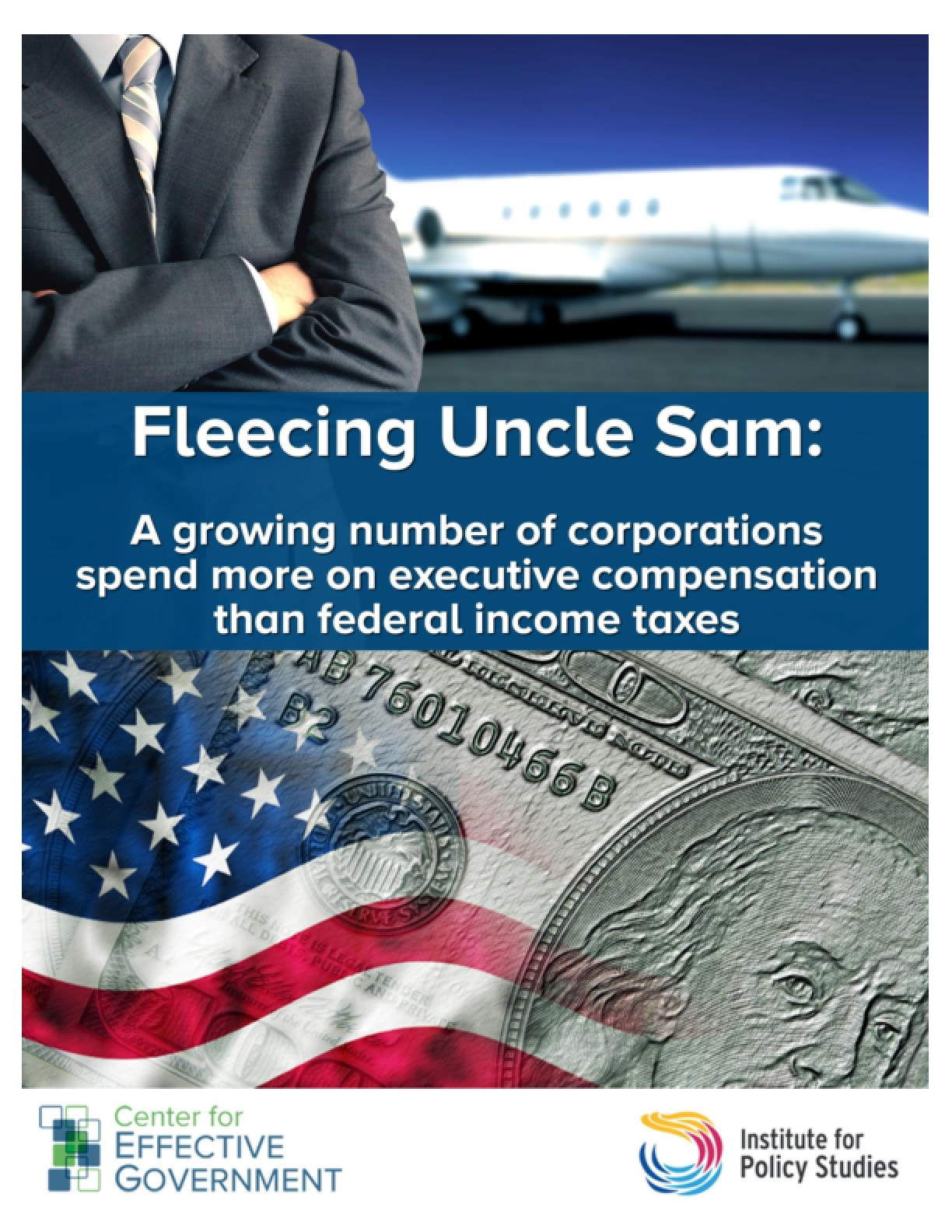 Fleecing Uncle Sam: A Growing Number of Corporations Spend More on Executive Compensation than Federal Income Taxes