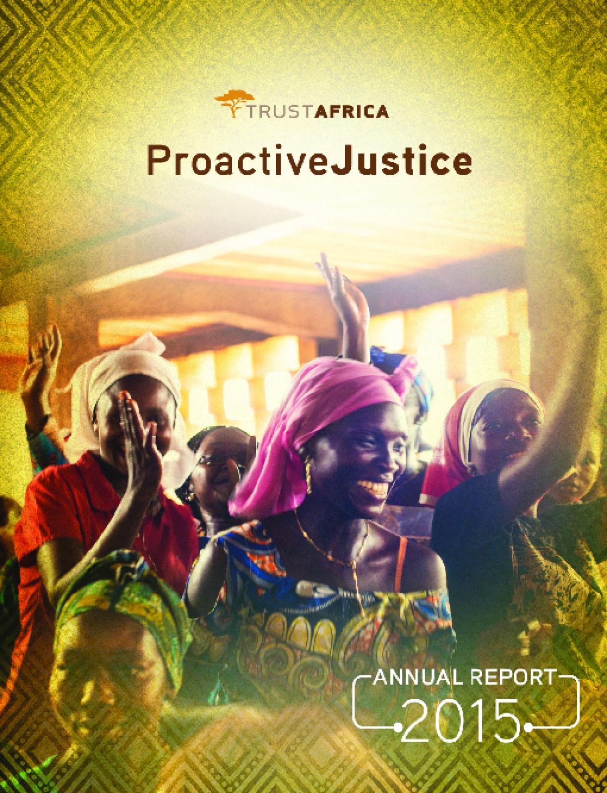 TrustAfrica Annual Report 2015