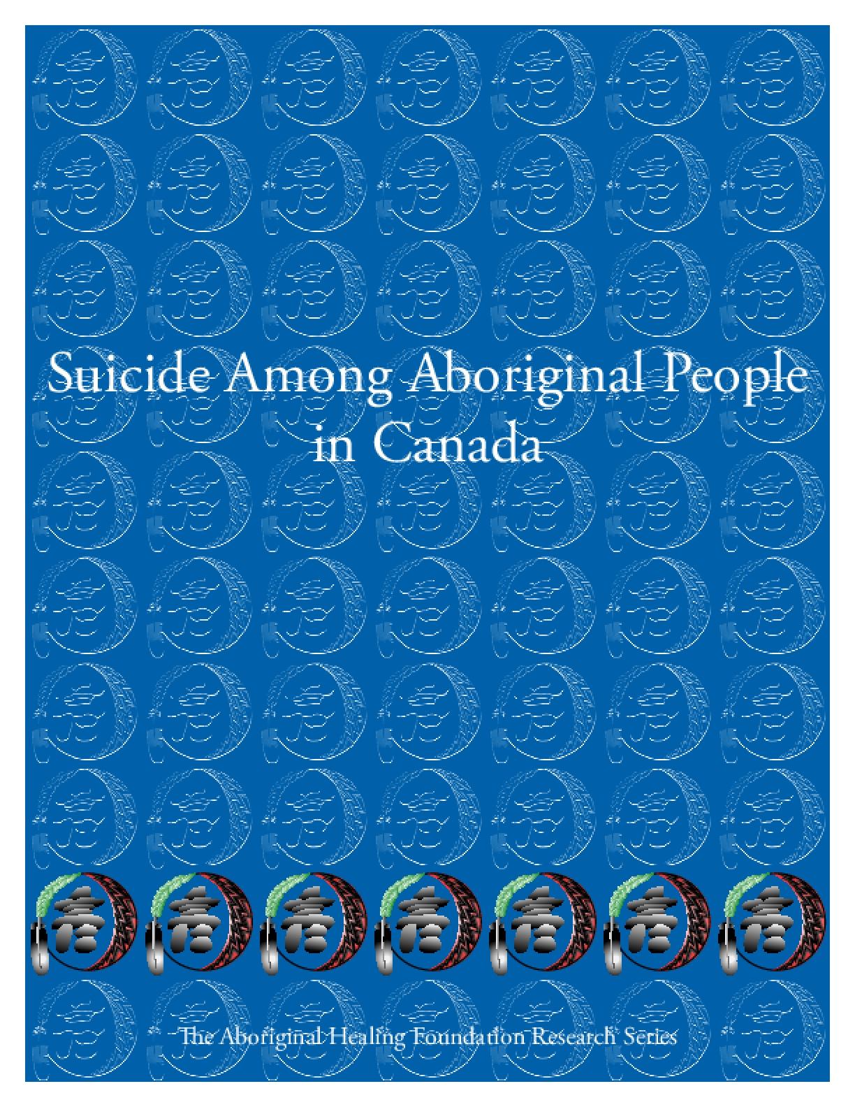 Suicide Among Aboriginal People in Canada