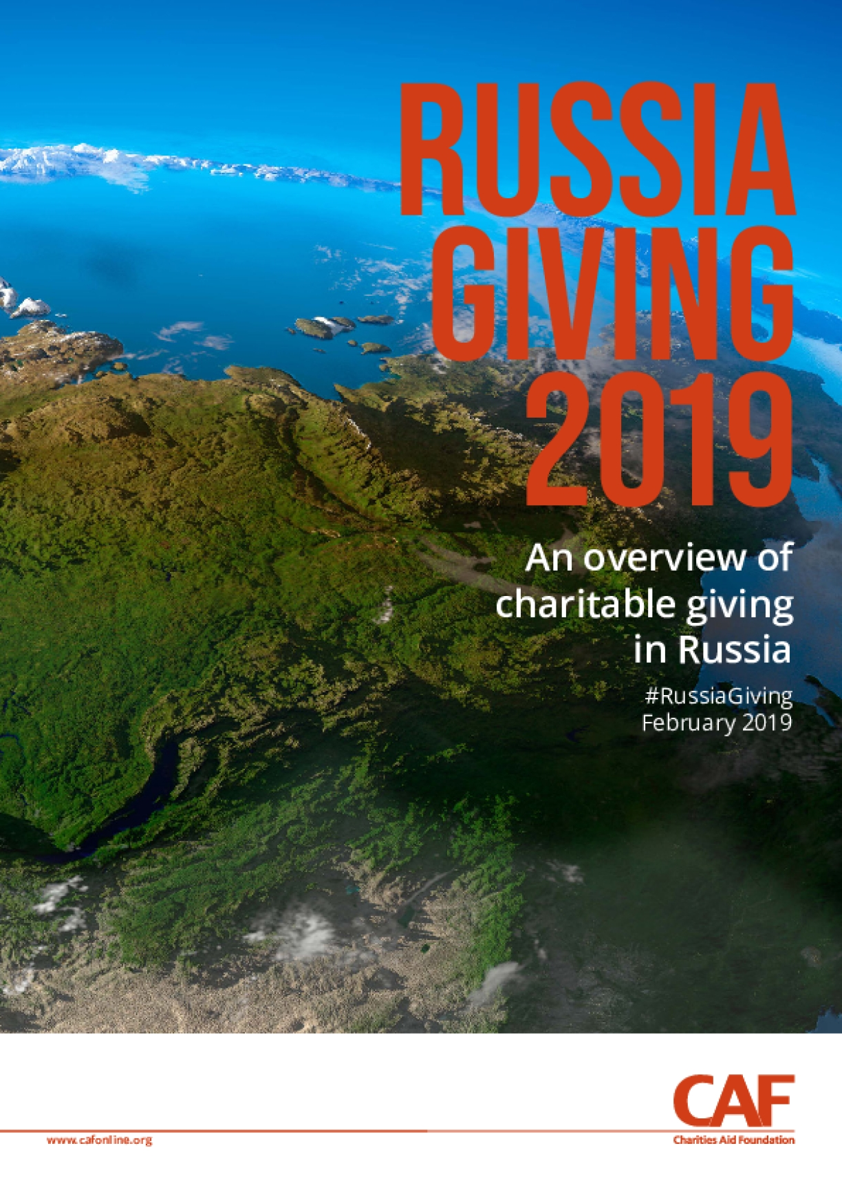 Russia Giving 2019 : An Overview of Charitable Giving in Russia