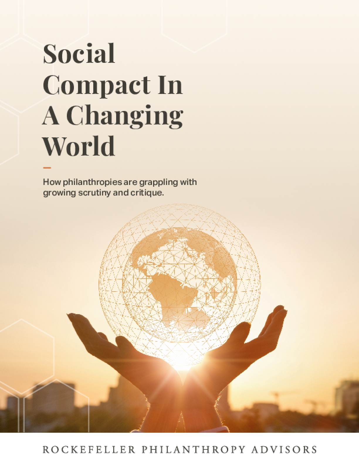 Social Compact In A Changing World: How Philanthropies are Grappling with Growing Scrutiny and Critique