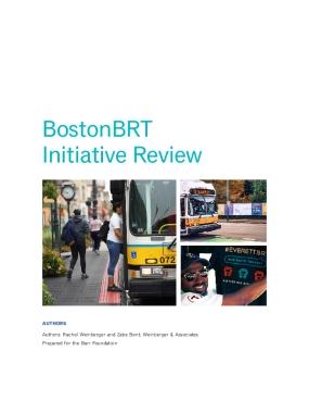 BostonBRT Initiative Report