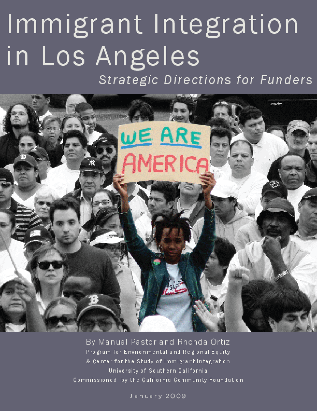 Immigrant Integration in Los Angeles: Strategic Directions for Funders