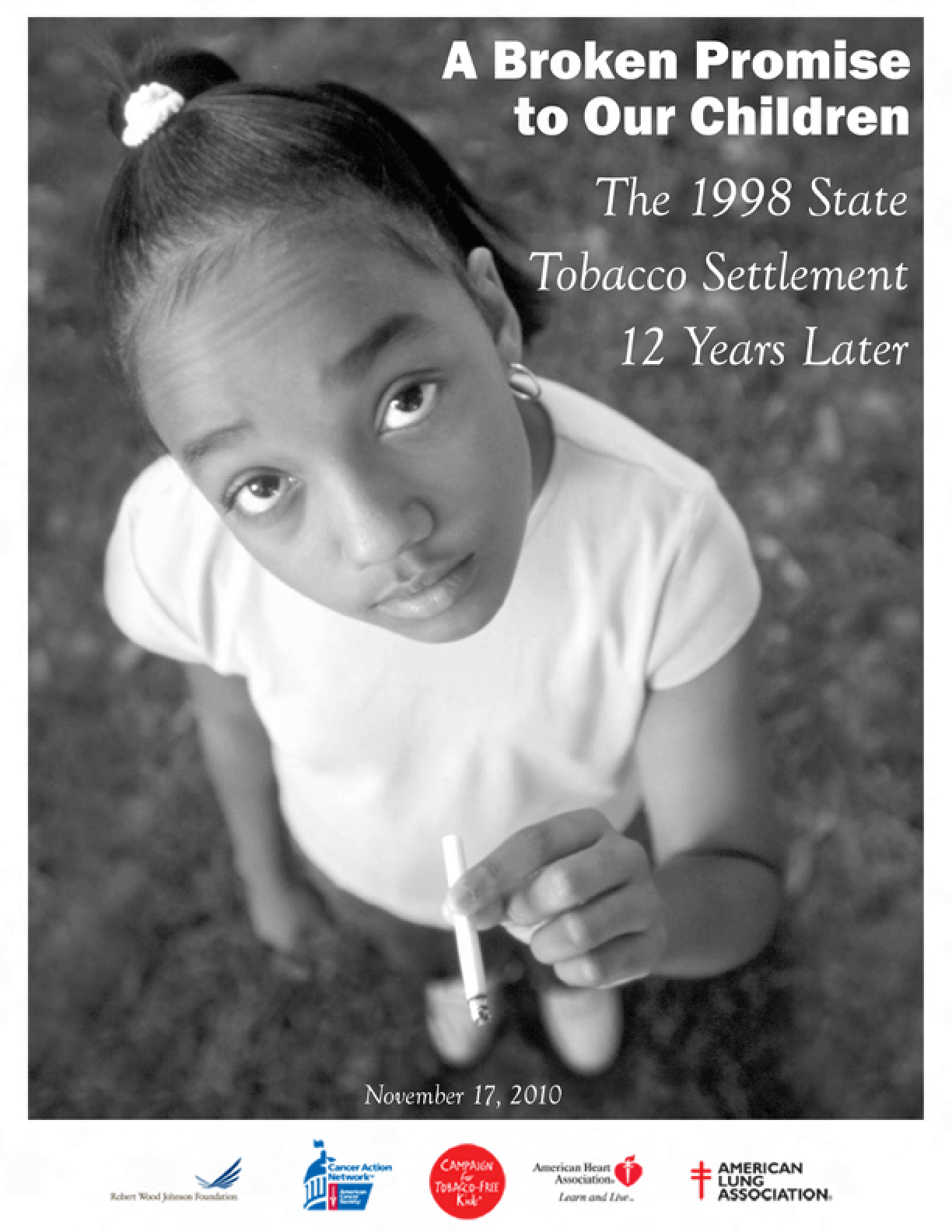 A Broken Promise to Our Children: The 1998 State Tobacco Settlement 12 Years Later
